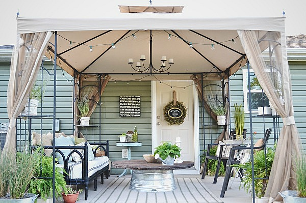 11 Budget Friendly Patio Makeovers   The Inspired Hive on Budget Friendly Patio Ideas id=39598