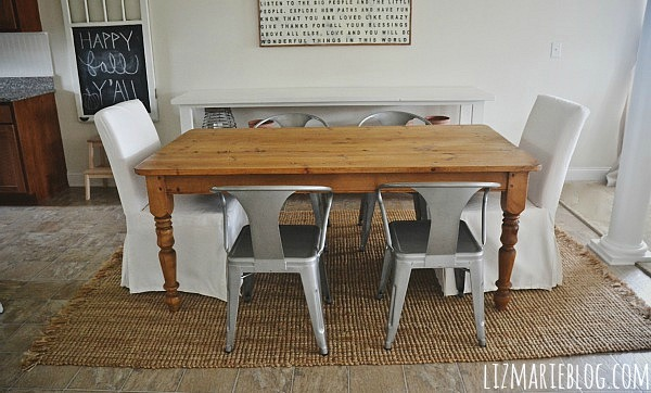 New Dining Room Table Chairs Amp Updates Liz Marie Blog
