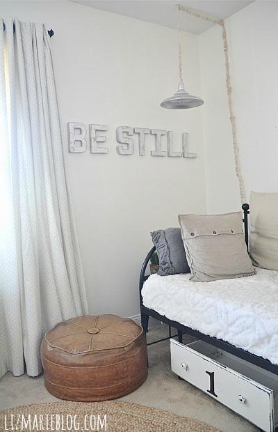 Front Guest Bedroom Makeover Curtains Sneak Peek Liz