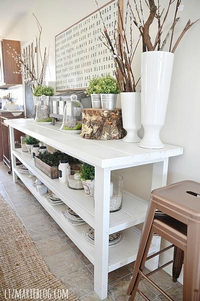 DIY Dining Room Buffet