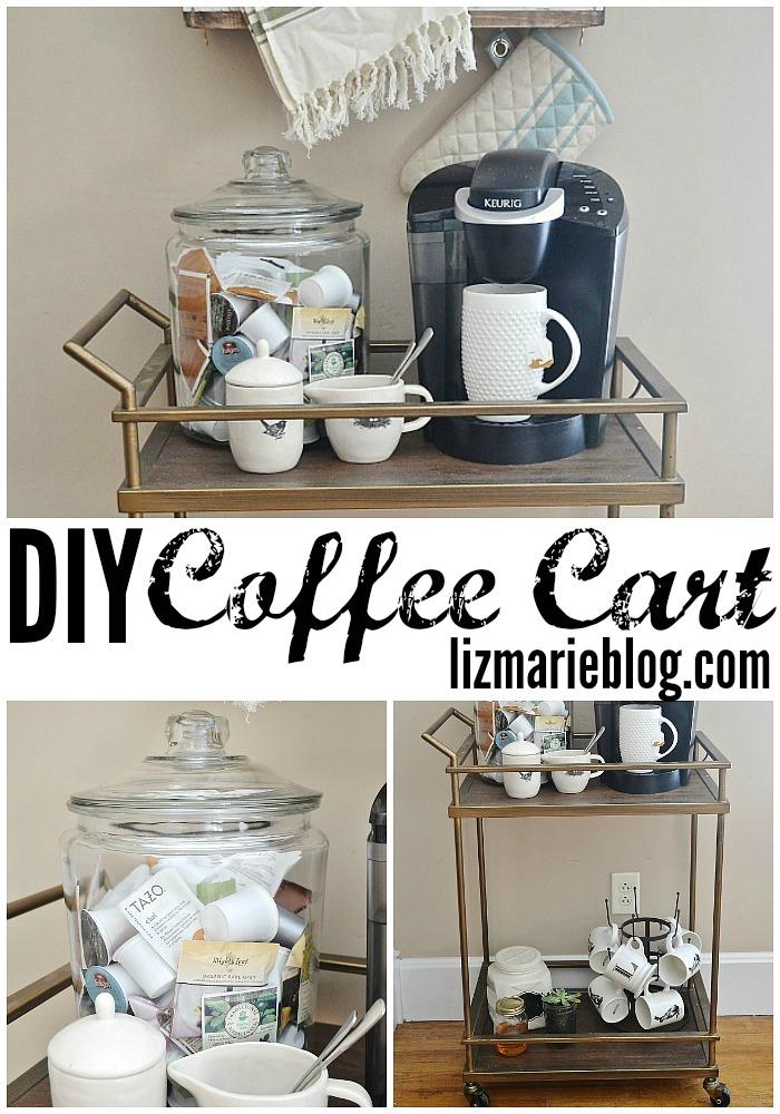 Diy Coffee Cart Liz Marie Blog