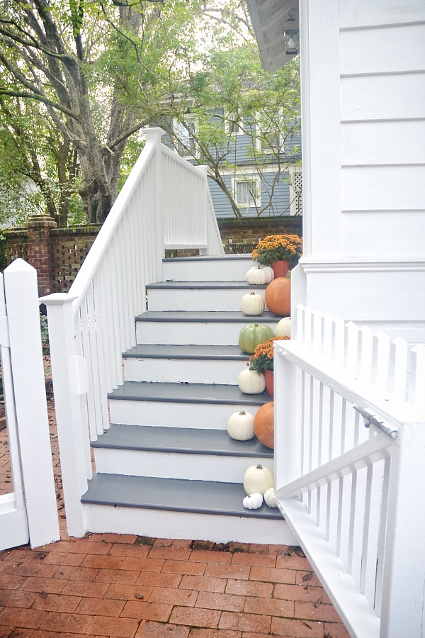 Stairway Makeover Fall Stairs