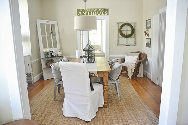 LMB Rental Neutral Rustic Dining Room Liz Marie Blog Extraordinary Rustic Dining Room Ideas Property