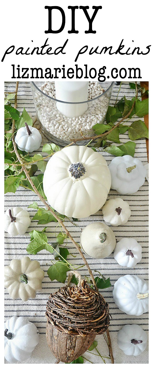 DIY painted pumpkins - An easy way to update your fall decor!