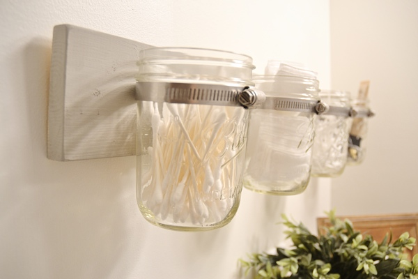 DIY Mason Jar holder - the super easy way!