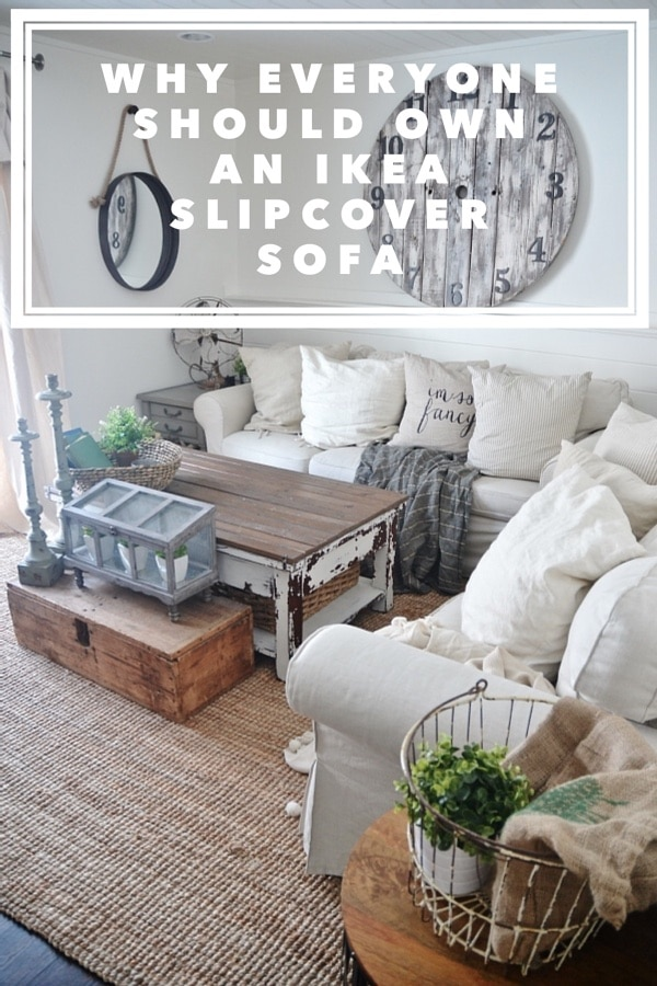 ikea slipcover sofa review honest opinions 3 years later. Black Bedroom Furniture Sets. Home Design Ideas