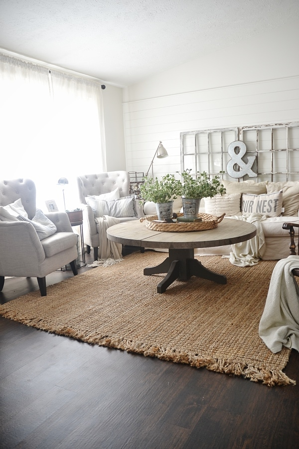 A super honest review of jute rugs  where to buy them get Jute Rug Review An After Three Years Liz Marie Blog
