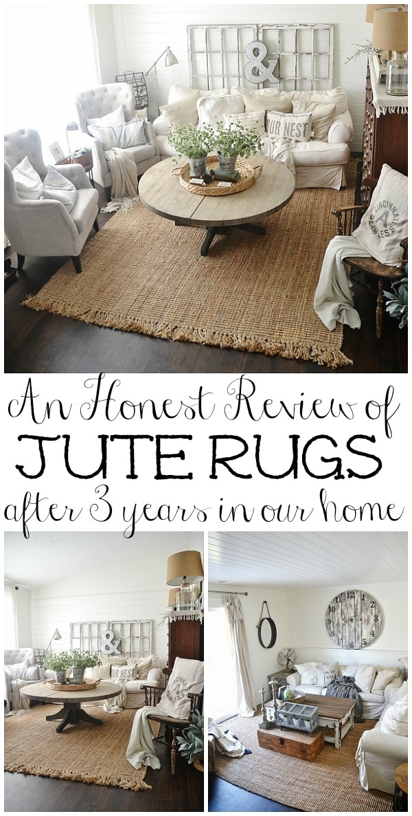 Jute Rug Review - An honest Review After Three Years - Liz Marie Blog