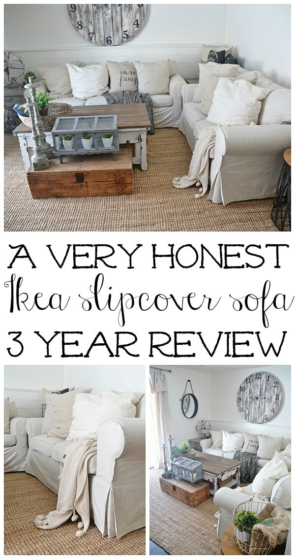 http://www.lizmarieblog.com/2015/02/ikea-slipcover-sofa-review-honest-opinions-3-years-later/