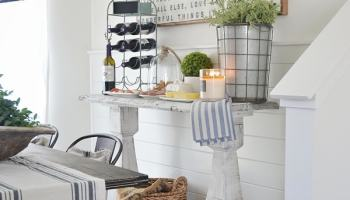 DIY Simple Dining Room Buffet