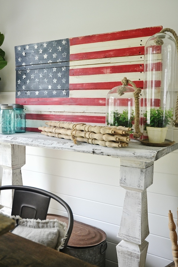 Do It Yourself Home Design: DIY Wood Pallet American Flag