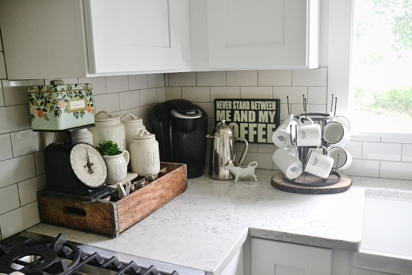 Tiny Craftsman Comes With Espresso Station: Kitchen Coffee Station