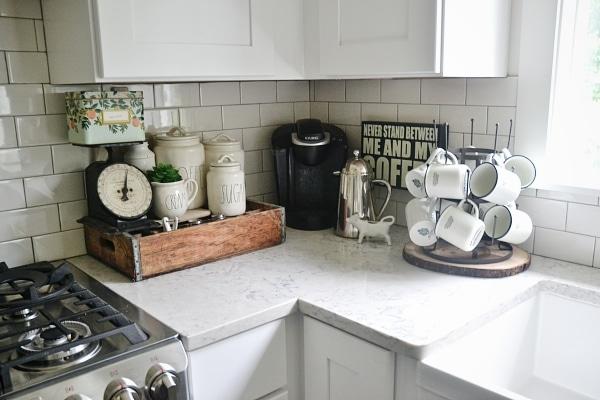Kitchen Coffee Station Liz Marie Blog