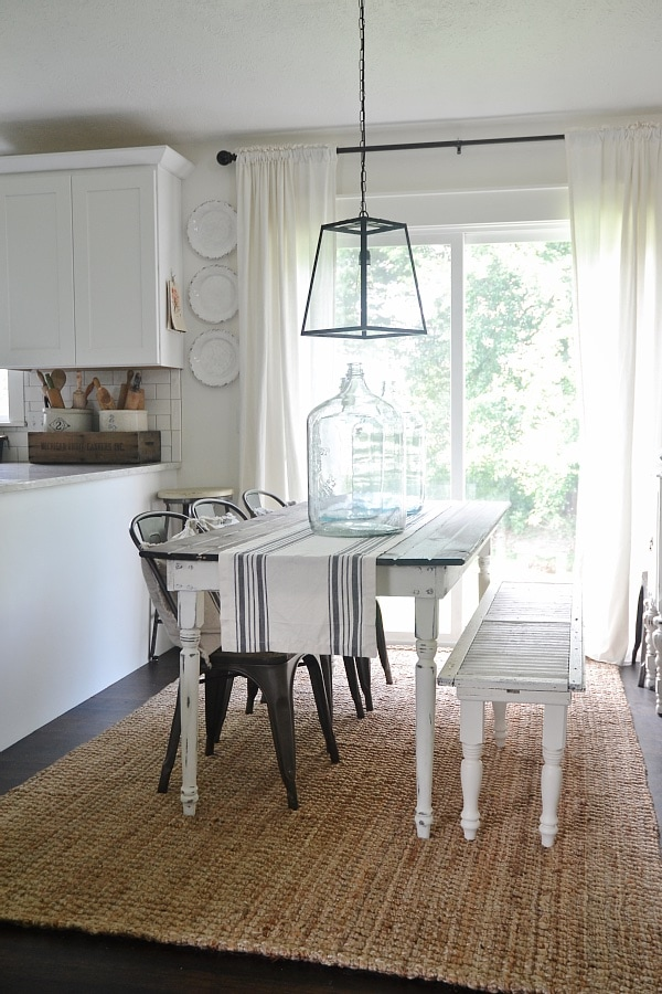 DIY Simple U0026 Easy Farmhouse Table   A Great Beginner Table That You Can  Customize For