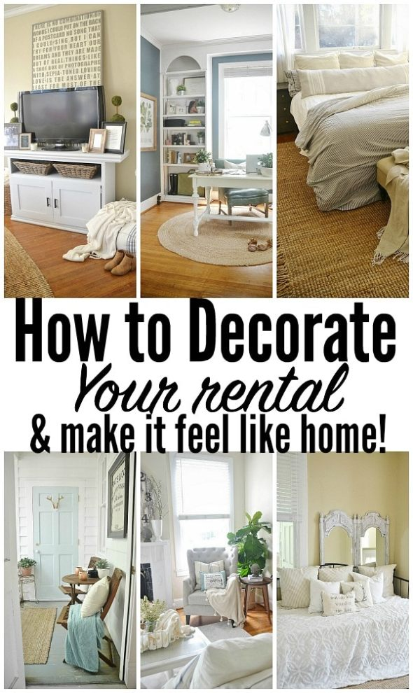 How To Decorate Your Rental & Make It Like Home - Sufey