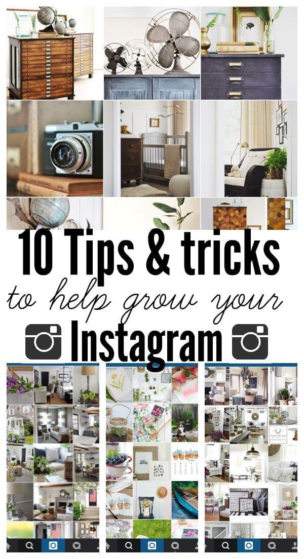 10 awesome tips & tricks to help grow  your Instagram following! A must pin!