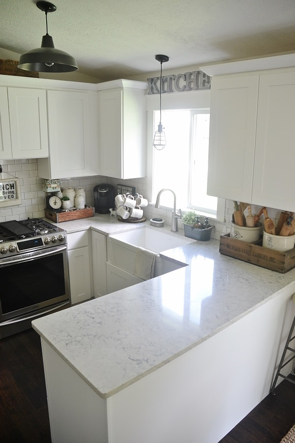 Quartz Countertop Review - Pros & Cons - Liz Marie Blog