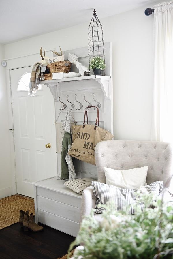 Diy Door Hall Tree Liz Marie Blog