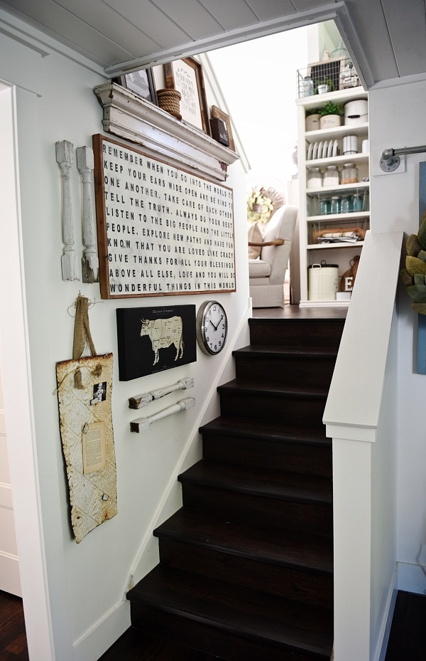 Cottage Staircase Gallery Wall Liz Marie Blog