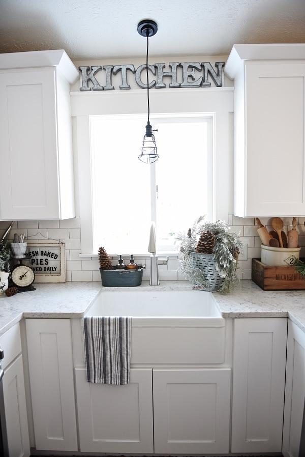 Simple Winter Kitchen Liz Marie Blog