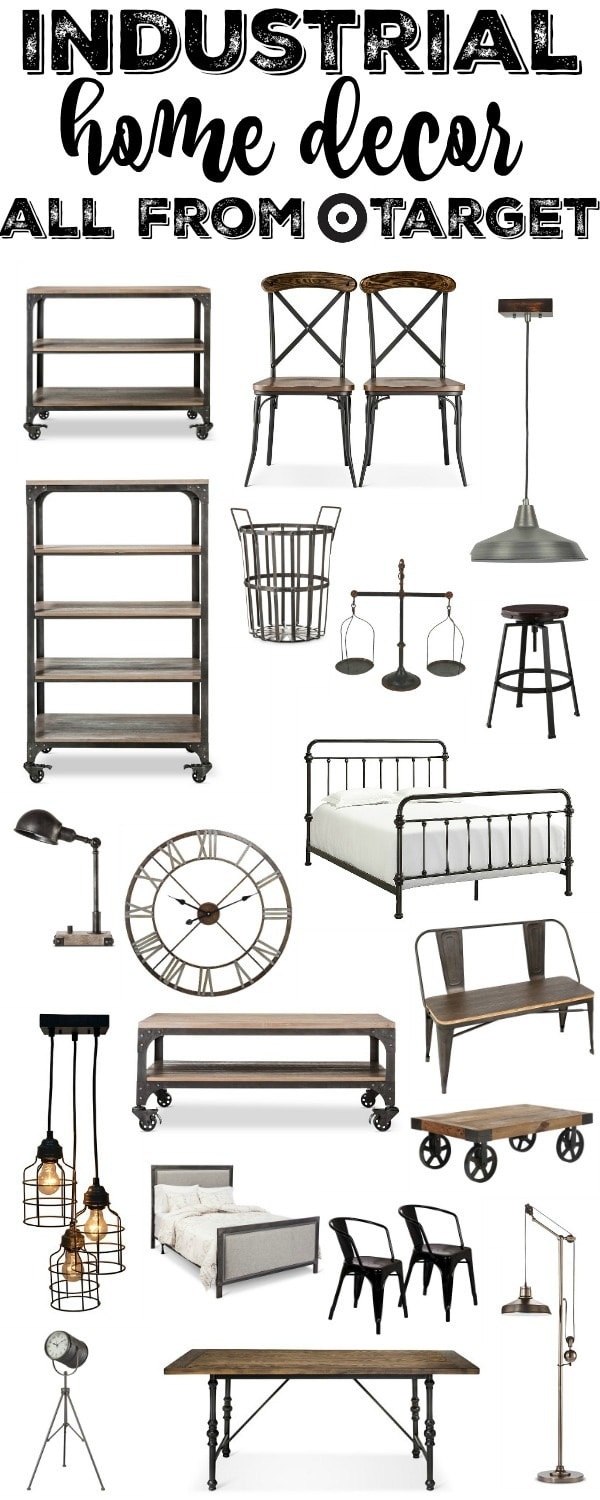 Industrial Furniture & Home Decor From Target - Liz Marie Blog