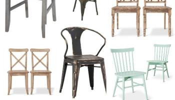 Miraculous New Rustic Metal And Wood Dining Chairs Liz Marie Blog Beatyapartments Chair Design Images Beatyapartmentscom