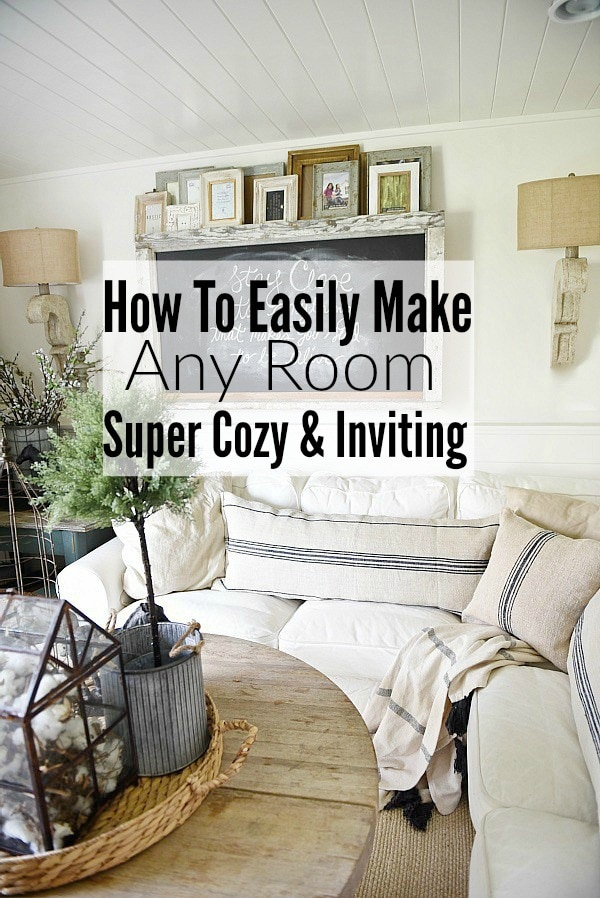 HOW TO MAKE ANY ROOM COZY