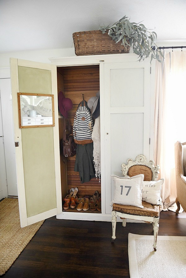 Entryway Armoire   A Great Way To Add Storage To An Entryway. If The Closet