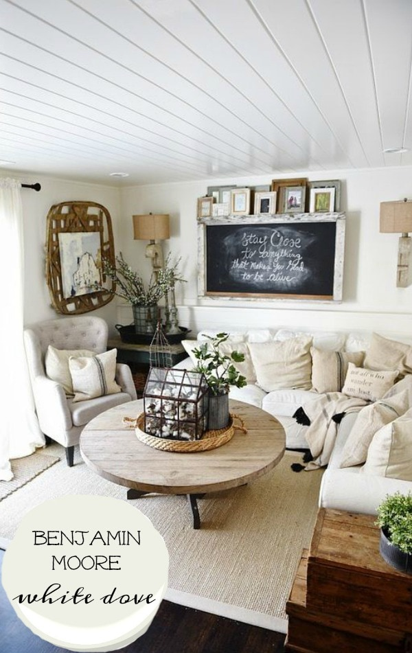 The Best Rustic Farmhouse White Paint   A Must Pin For The Best Neutral  White To Part 74