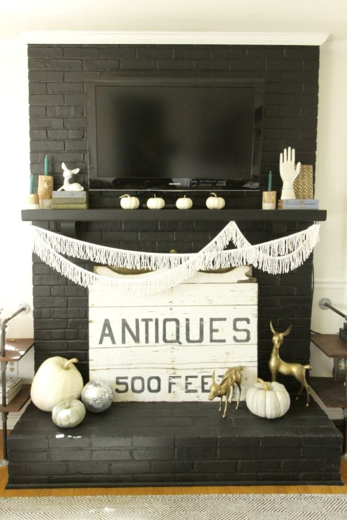 How to decorate with white pumpkins