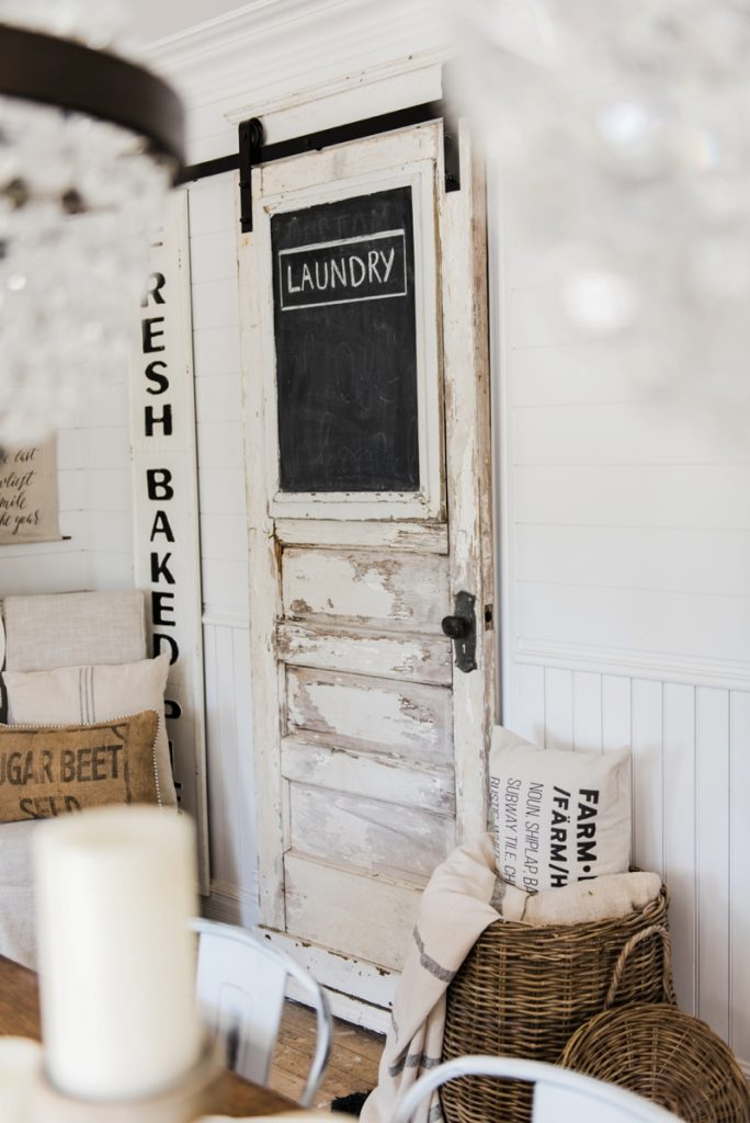 DIY Laundry Room Sliding Barn Door   Great For Any Room Of Your Home. A