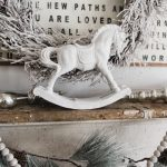 Christmas Rocking Horse Makeover Liz Marie Blog