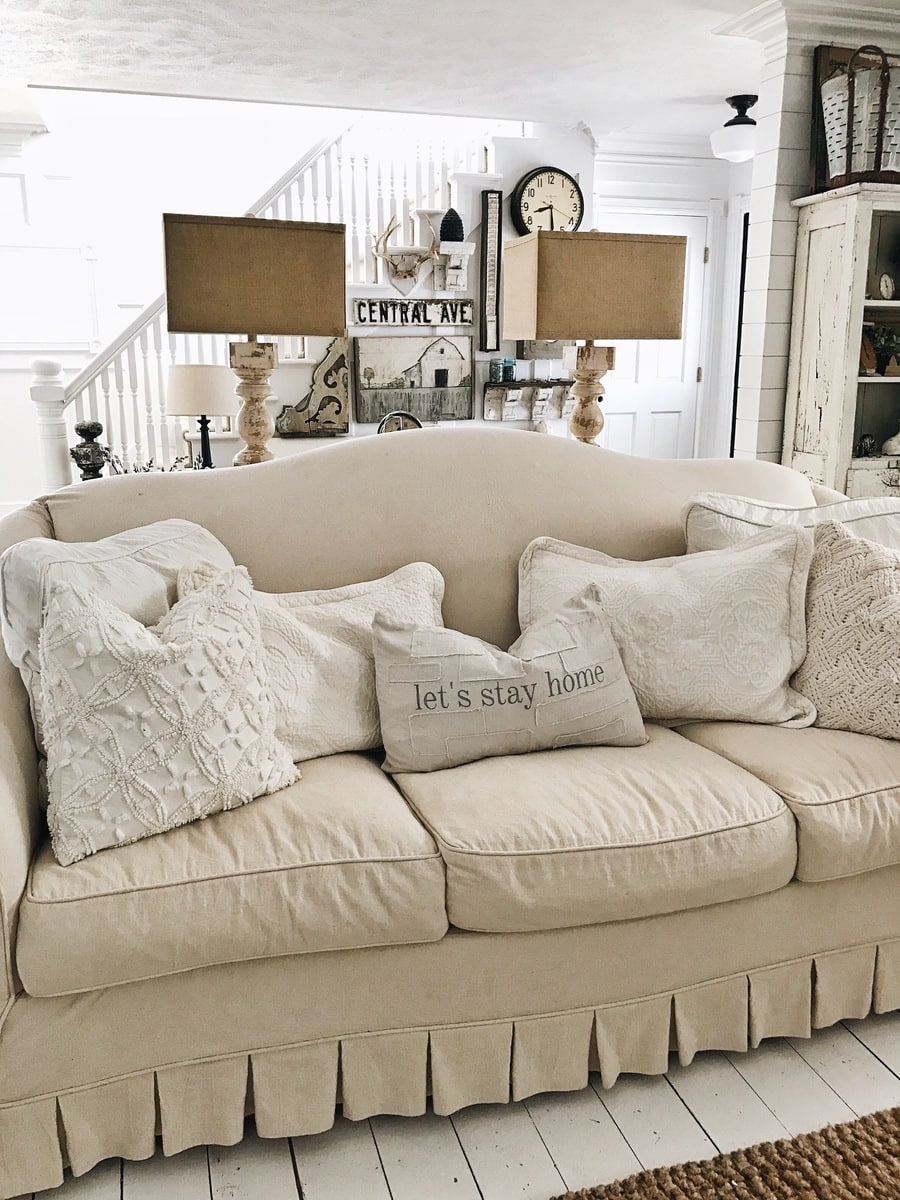 12 Perfect Farmhouse Style Lamps on Curtains For Farmhouse Living Room  id=40762