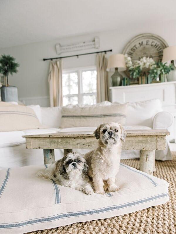 Farmhouse Style Dog Bed Liz Marie Blog