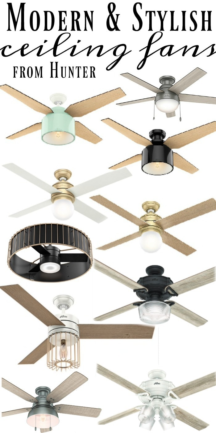 Seriously Stylish Ceiling Fans