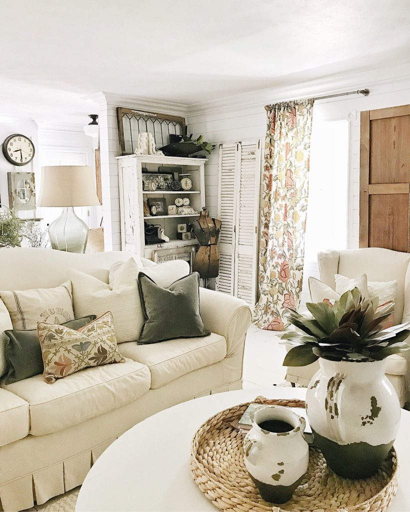 Adding Color To The Front Living Room - Liz Marie Blog