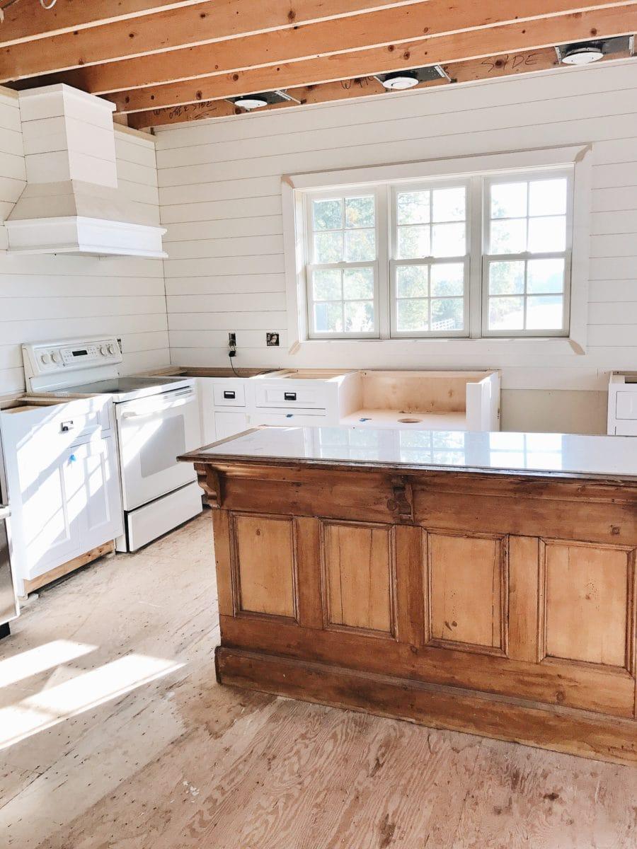 Kitchen Progress - We Have Cabinets!! - Liz Marie Blog