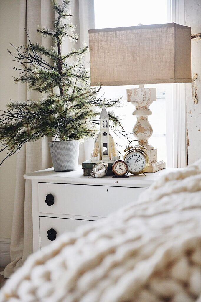 Rustic Cozy Christmas Bedroom Liz Marie Blog
