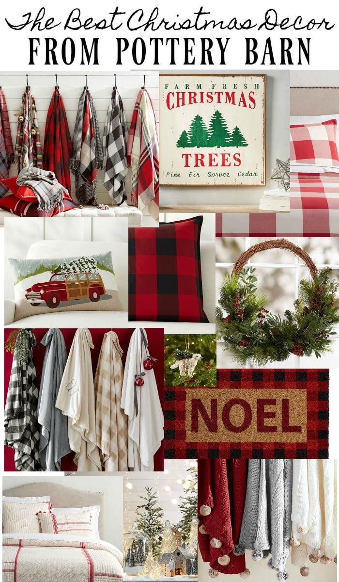 the best christmas decor from pottery barn