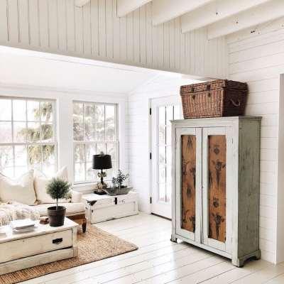 Painted Floor Adventure – The Biggest Room Yet