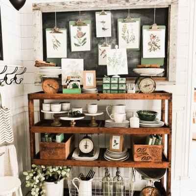 Dining Room Cottage Greenhouse Shelves