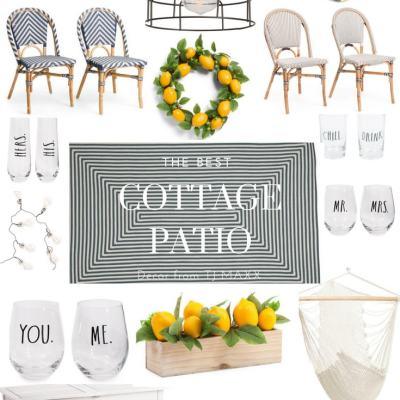 The Best Cozy Cottage Patio Decor