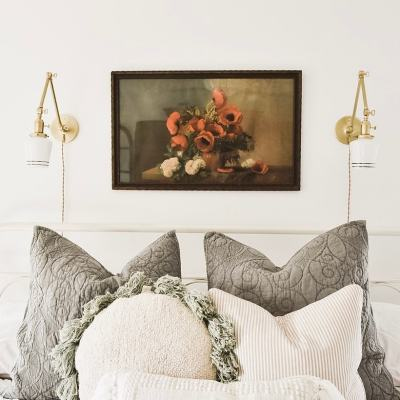 Master Bedroom Makeover – New Wall Sconces