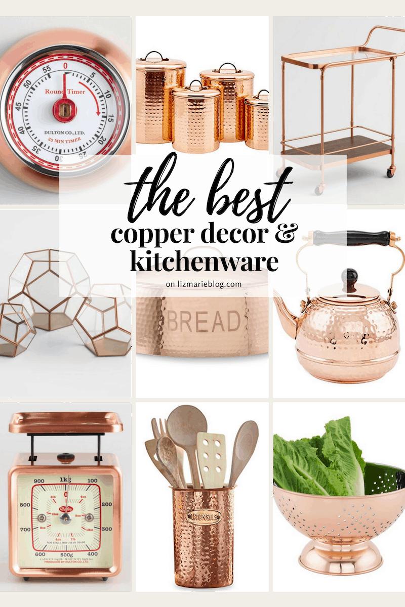 The Best Copper Decor Graphic