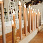 Diy Candlestick Holder Liz Marie Blog