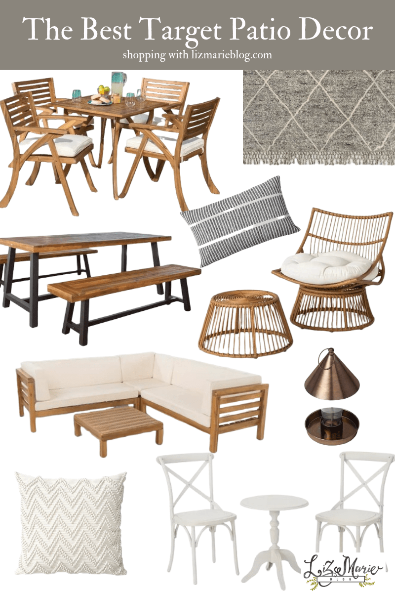 the best patio furniture decor for