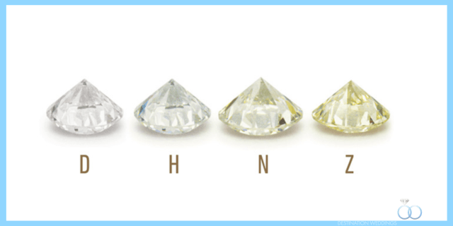 Belles couleurs de diamants
