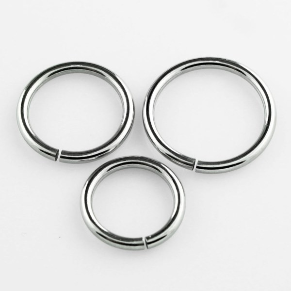 surgical steel nose ring