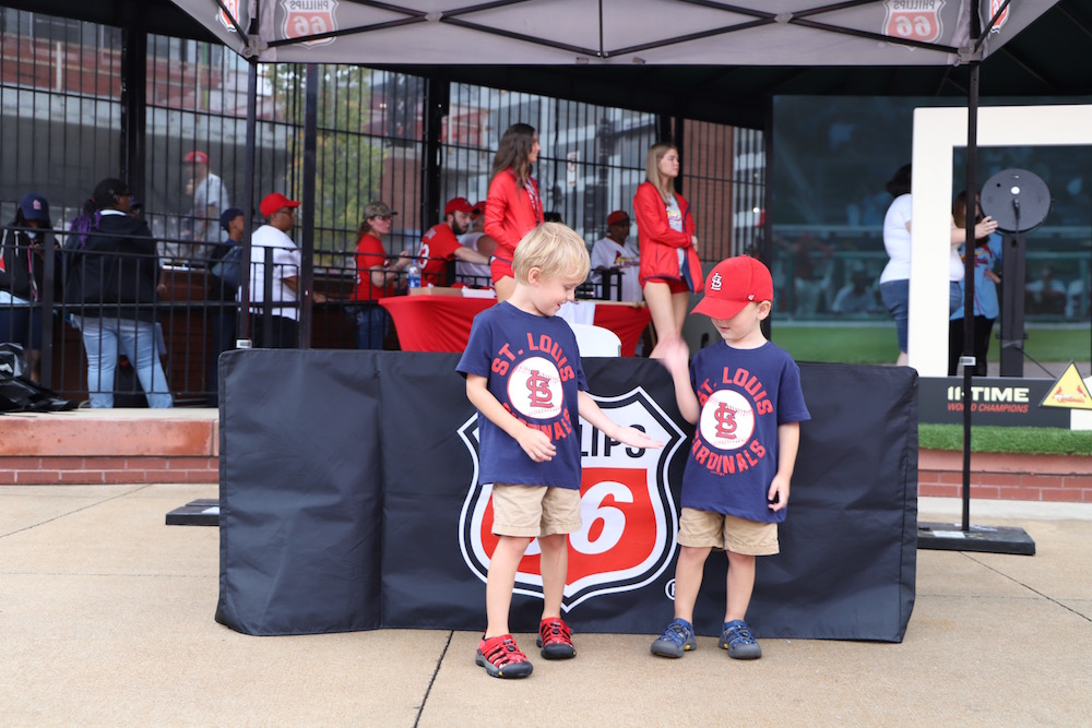 Filling Our Tank with Baseball Memories | How to get discounted Cardinals tickets just by filling your gas tank at Phillips 66! from St. Louis blogger Liz of lizrotz.com