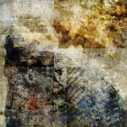 what's coming to you: Digital collage by Liz Ruest, 18 layers